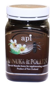 API Health Manuka and Bee Pollen Honey