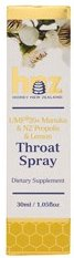 Honey New Zealand Propolis & UMF20+ Manuka Throat Spray - Lemon