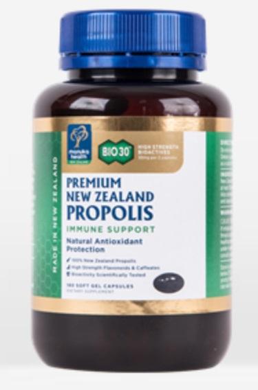 Manuka Health Bio 30 Propolis Capsules