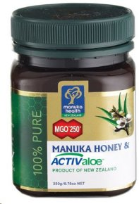 Manuka Health MGO 250+ Manuka Honey & ACTIValoe Gel