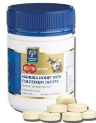 Manuka Health MGO 400+ Manuka Honey & Colostrum Chewable Tablets