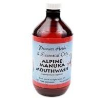 Pioneer Herbs Alpine Manuka Mouthwash